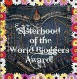 Sisterhood of the World Bloggers Award Recipient