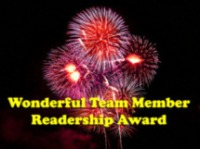 Wonderful Team Member Readership Award Recipient