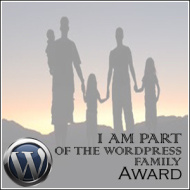 Wordpress Family Award Recipient