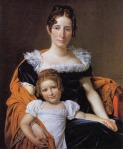 Mother and Daughter in Regency Clothes