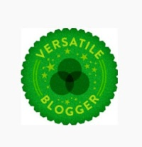Versatile Blogger Award Recipient